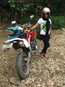 Motorcycle tours in Cebu with Irene and her crew!